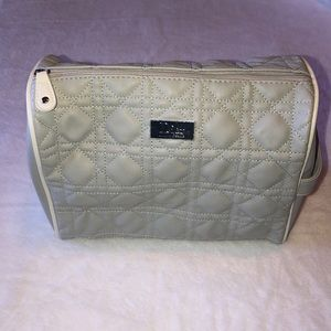 Like New! Dior Cosmetic Bag - Gray